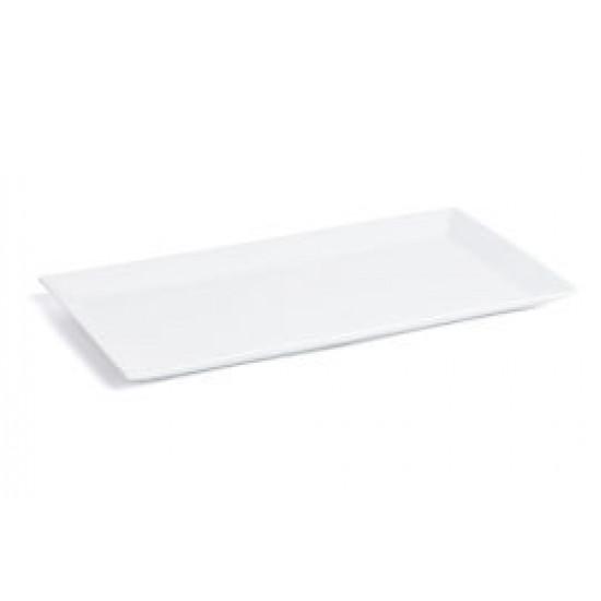 Tallrik flat 40x20 cm Quadro