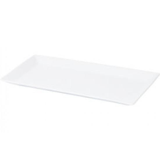 Tallrik flat 36x18 cm Quadro