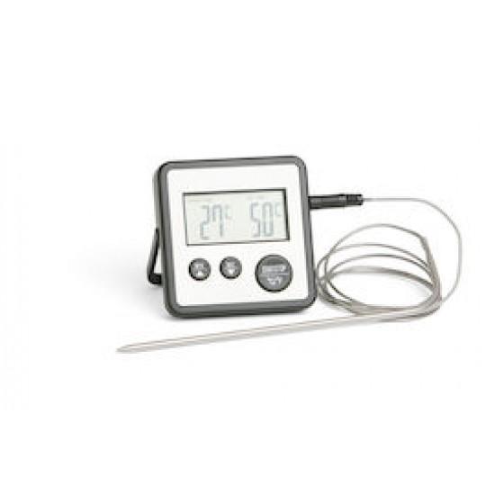 Digital stektermometer, timer
