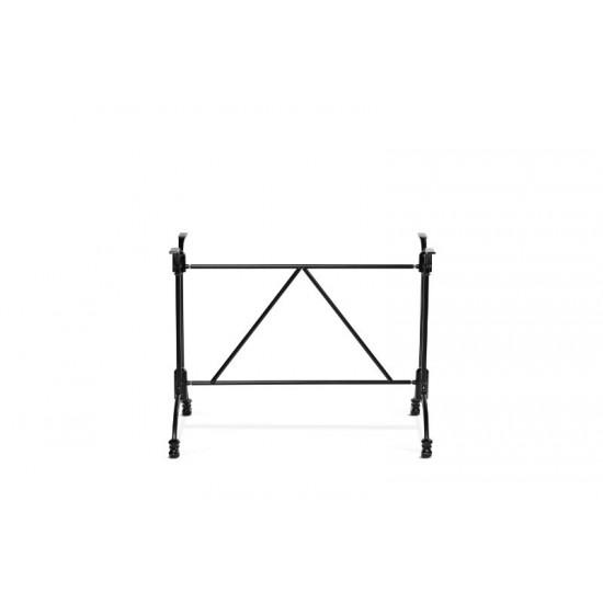 Bordsstativ rektangulärt, svart bistro