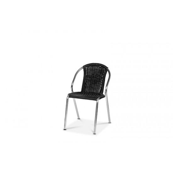 Valencia stol, svart