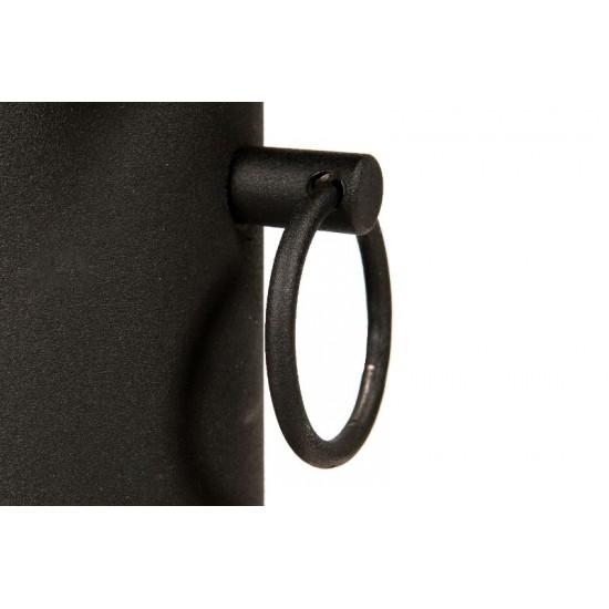 Bordsstativ rektangulärt, svart