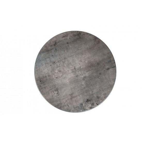 Bordsskiva Ø 70cm, concrete