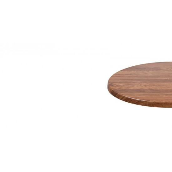 Bordsskiva Ø 60cm, teak