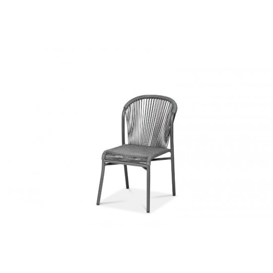 Lille stol, antracitgrå