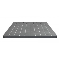Bordsskiva 70x70cm, grå