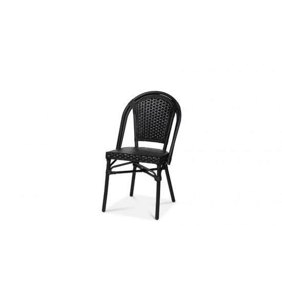 Paris stol, svart