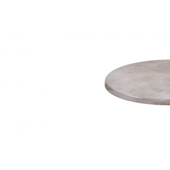 Bordsskiva Ø 60cm, Zinc