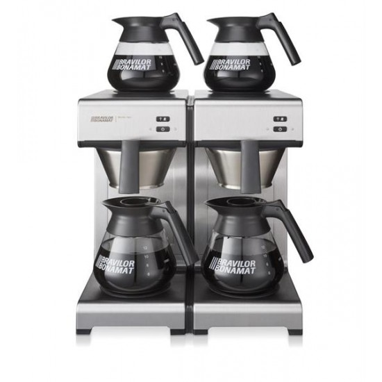 Mondo Twin kaffebryggare 4 värmehällar