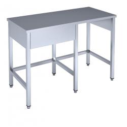 Arbetsbänk med plats för diskmaskin L* x B600 x H850