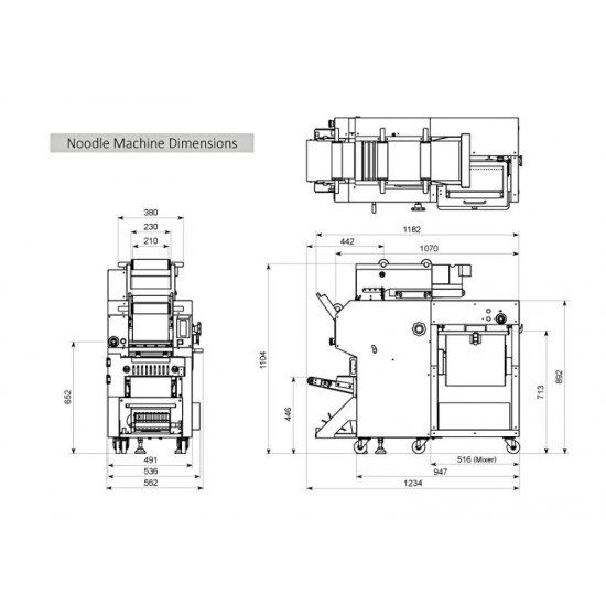Noodle Machine 220V~240V